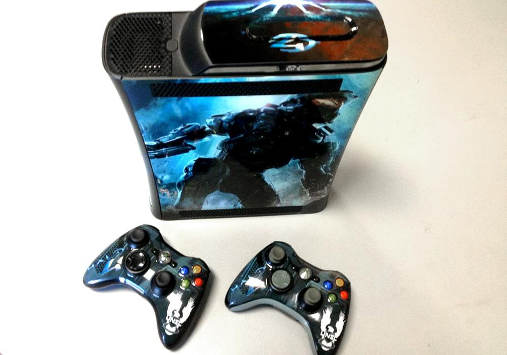 Halo 4 Xbox Wrap