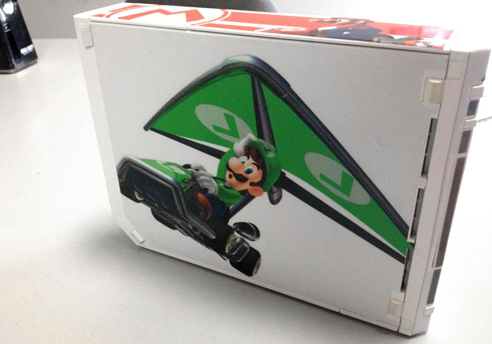 Mario Wii Wrap