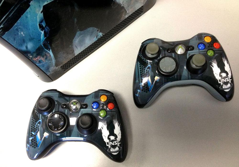 Halo 4 Xbox360 controller wrap