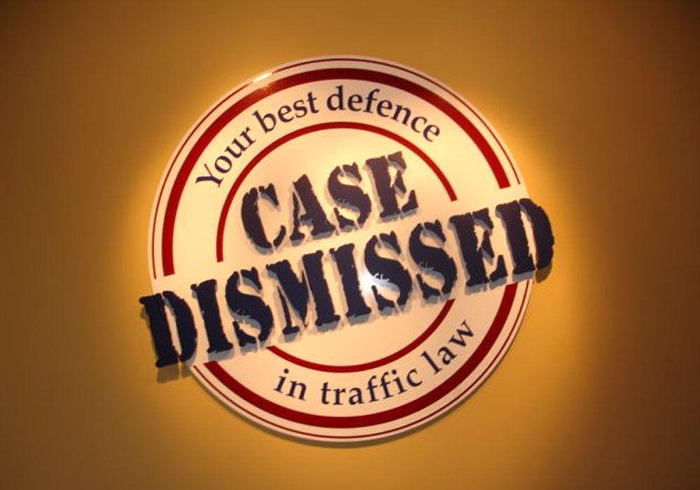 Case Dismissed