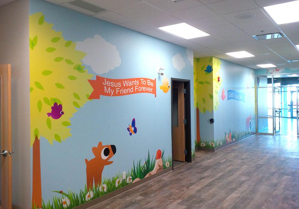 Childrens Wall Murals