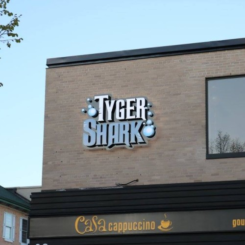Tyger Shark sign